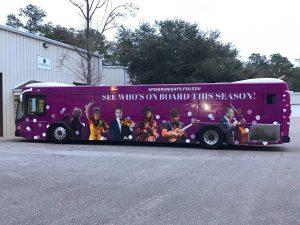 Custom Full Bus Wrap