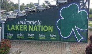 Custom Large Format Banner for Bleachers